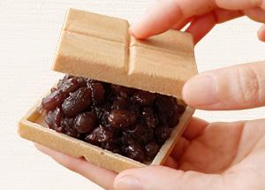 あんこは和菓子の命です