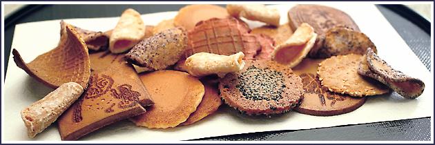 三松堂のお煎餅